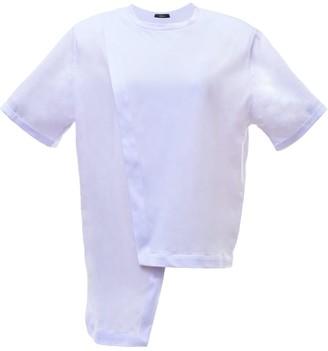 Z.G.Est Padded T-Shirt In White