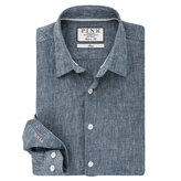 Thomas Pink Vincent Texture Classic Fit Button Cuff Shirt