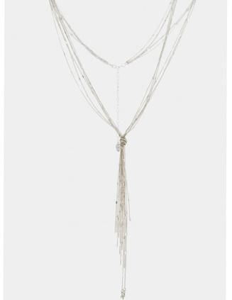 Armani Exchange A|X Lariat Necklace