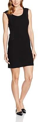 Naf Naf Women's CHNR9 Pencil Sleeveless Party Dress - Black