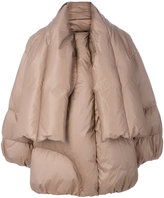 Maison Margiela oversized padded jacket - women - Cotton/Feather Down/Polyamide/Goose Down - 38