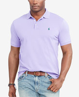 Polo Ralph Lauren Men's Big & Tall Classic-Fit Stretch-Mesh Polo Shirt