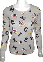 Disney Mickey Mouse Women's Thermal Long Sleeve (S, )