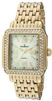 Peugeot Women's 7080G Panther Link Gold-Tone Bracelet Watch