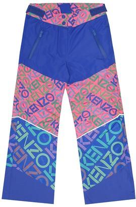 Kenzo Kids Printed ski pants