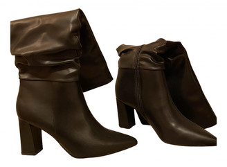 &Daughter Black Polyester Boots