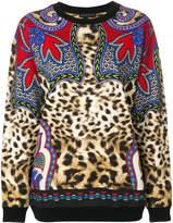 Etro leopard print sweatshirt