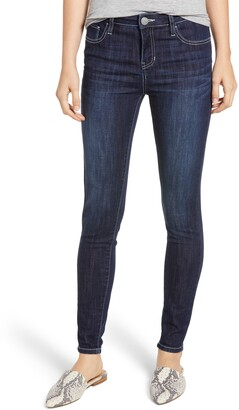 Prosperity Denim Contrast Stitch Skinny Jeans