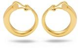 Charlotte Chesnais Monie large gold-plated clip-on earrings
