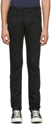 Naked and Famous Denim Black Power Stretch Super Guy Jeans