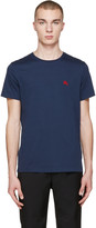 Burberry Navy Tunworth T-shirt
