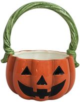 Celebrate Halloween Together Decorative Jack-o'-Lantern Bowl