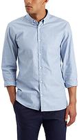 Jaeger Stripe Oxford Regular Fit Shirt, Blue
