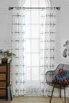 Urban Outfitters Assembly Home Plus Sign Curtain
