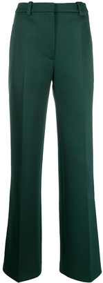 Lacoste High-Waist Tailored Trousers