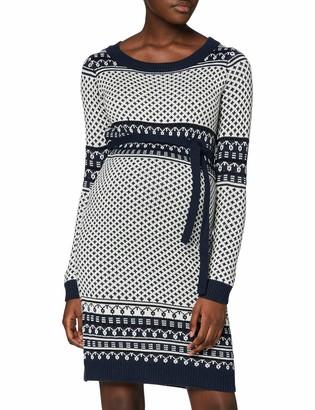 Mama Licious Mamalicious Women's Mljoy L/S Knit Abk Dress