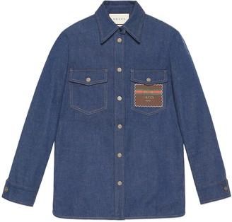 Gucci Denim shirt with Boutique