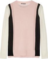 Vince Color-block cashmere sweater