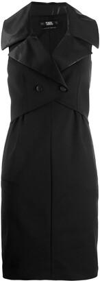 Karl Lagerfeld Paris tuxedo dress