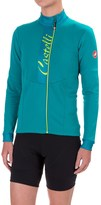 Castelli Sorriso Cycling Jersey - Full Zip, Long Sleeve (For Women)