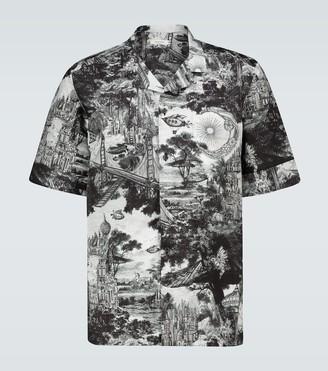 Valentino Dreamatic printed shirt