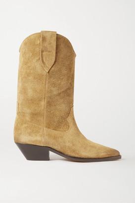 Isabel Marant Duerto Suede Boots - Beige