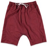 Forever 21 FOREVER 21+ Control Sector Reversible Drawstring Shorts