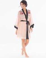 Soma Intimates Lace Affaire Short Robe Rose Blush