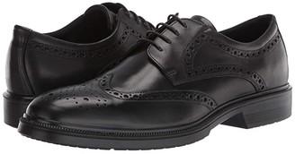 Ecco Maitland Brogue Tie (Black) Men's Shoes