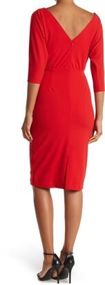 Alexia Admor Paris Dolman Sleeve Sheath Dress