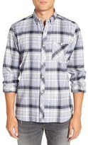 French Connection 'Ijolite' Trim Fit Plaid Sport Shirt