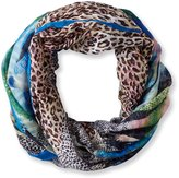 La Fiorentina Women's Animal Abstract Ombre Scarf