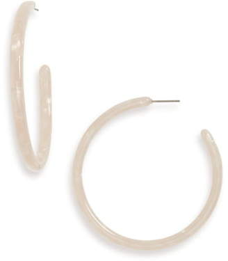 Kristin Cavallari Uncommon James By La Femme Hoop Earrings