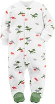 "Carter's Baby Boys' ""Clawfoot"" Footed Coverall"