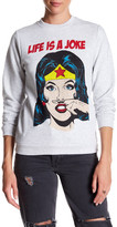 Eleven Paris ELEVENPARIS 'Life is a Joke' Wonder Woman Sweatshirt