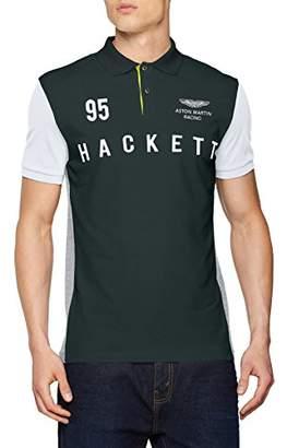 Hackett HKT by Men's AMR HKT Multi Polo Shirt,X-Large
