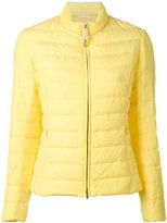Fabiana Filippi puffer jacket - women - Feather Down/Polyamide/Polyester/Viscose - 48