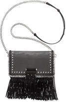INC International Concepts Anna Sui x Fringe Embellished Chain Crossbody, Created for Macy's