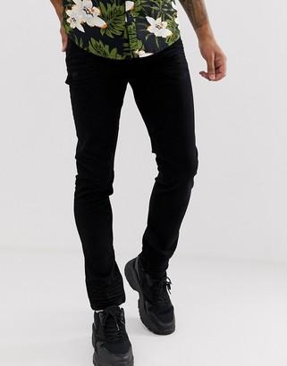 Armani Exchange J14 stretch skinny fit jeans in black