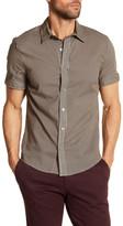 Parke & Ronen Biscayne Striped Short Sleeve Regular Fit Shirt