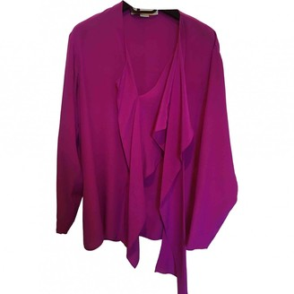 Stella McCartney Stella Mc Cartney Purple Silk Top for Women