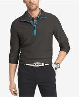 Izod Men's Quarter-Zip Textured Performance Shirt