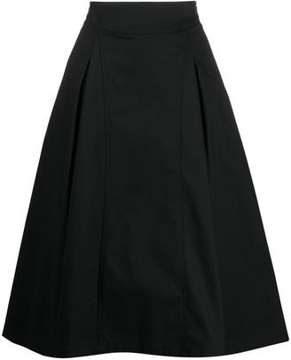 3.1 Phillip Lim high-waisted A-line skirt