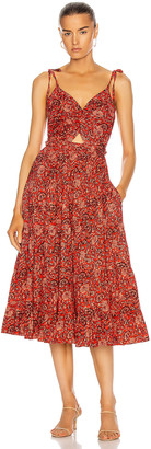 Ulla Johnson Kali Dress in Poppy Floral | FWRD