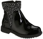 Lelli Kelly Kids Children's Joyce Gems Ankle Boots, Black Patent