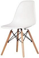 Thumbnail for your product : Design Tree Home Austin Mid-Century Side Chair, White