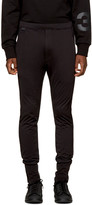 Y-3 Black Jersey Long John Lounge Pants