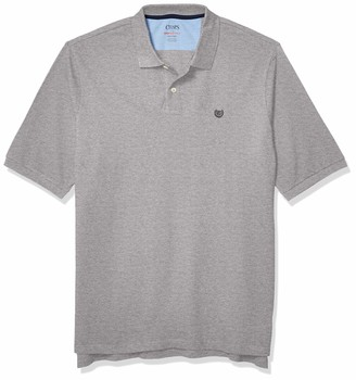 Chaps Men's Big & Tall Classic Fit Cotton Mesh Everyday Polo Shirt