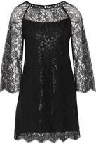 Vanessa Seward Corded Lace Mini Dress