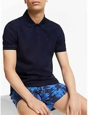 J. Lindeberg Troy Clean Pique Slim Fit Polo Shirt